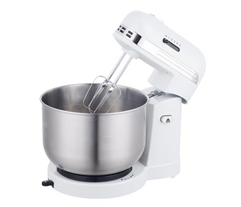 5-Speed Retro Stand Mixer- White