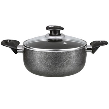 NON-STICK 2 QT POT- GRAY