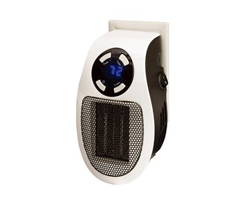 PLUG IN WALL OUTLET PERSONAL SPACE HEATER