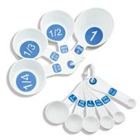 EZ Large Print Measuring Cup and Spoon 11-pc Set