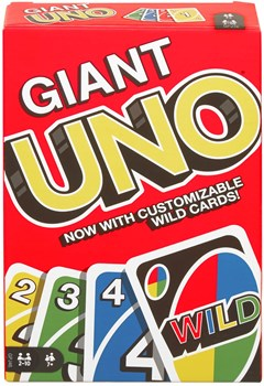 Giant Uno Card Game