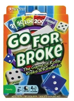 Go for Broke Playing Card Game