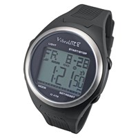 VibraLite 8 Watch with Black Silicone Band