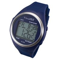 VibraLite 8 Watch with Blue Silicone Band