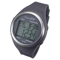 VibraLite 8 Watch with Grey Silicone Band