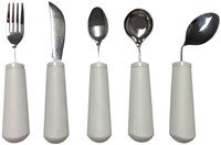 Soft Handle Bendable Utensils -Set of 4