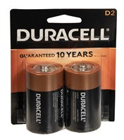 Duracell 2 D Batteries