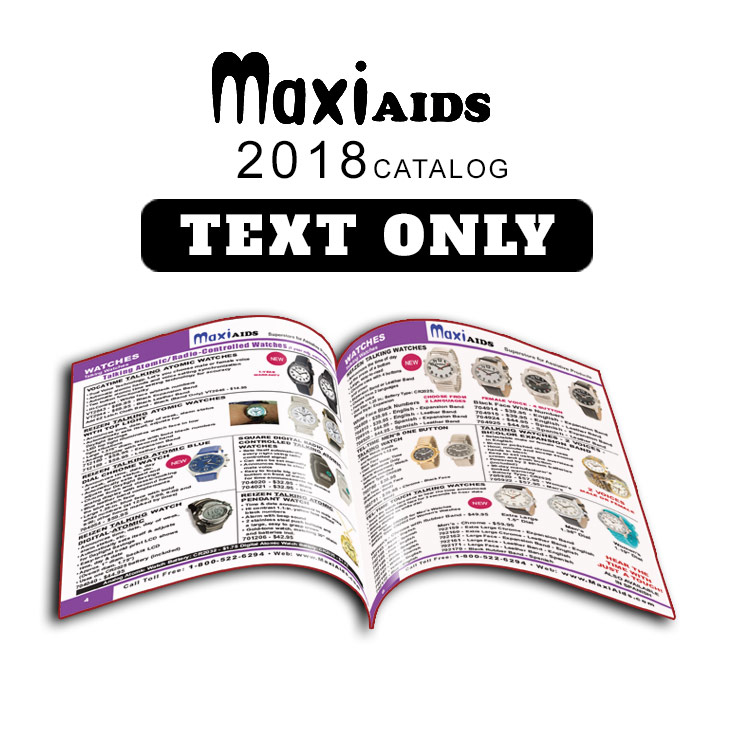 MaxiAids 2017 Catalog  - Text Only Format