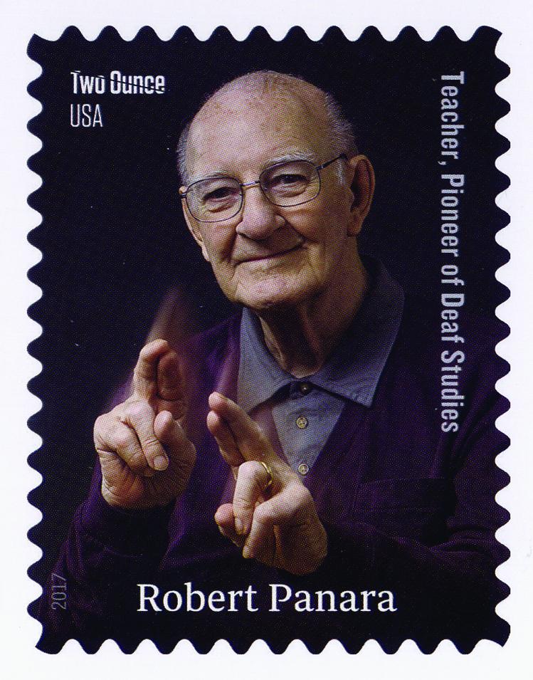 Robert Panara Postage Stamp