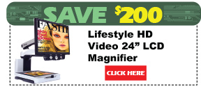 Lifestyle HD Video Magnifier 24in LCD Monitor