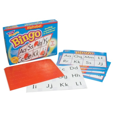 Alphabet Bingo Games- Braille