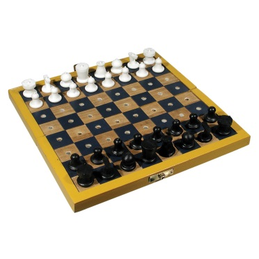 Travel Chess Set for the Blind or Those With Lo...
