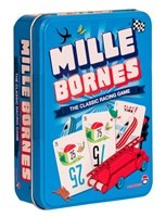 Braille Mille Bornes Card Game