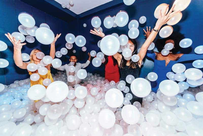 Image result for rose mansion ball pit images