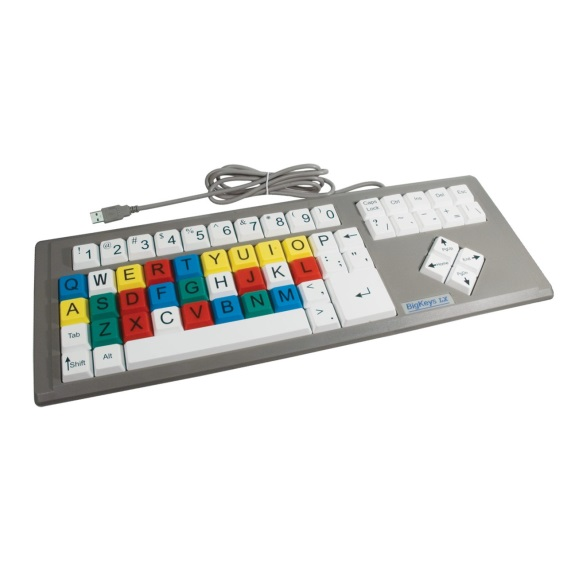 big keys lx-keyboard color qwerty