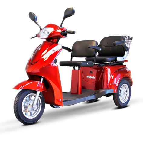 The EWheels EW-66 2-Passenger Heavy-Duty Scooters