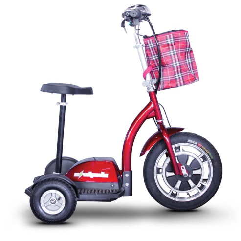 E-Wheels EW-18 Stand-N-Ride 3-Wheel Electric Mobility Scooters