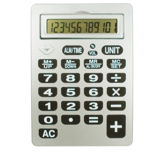 reizen-12-digit-jumbo-talking-calculator