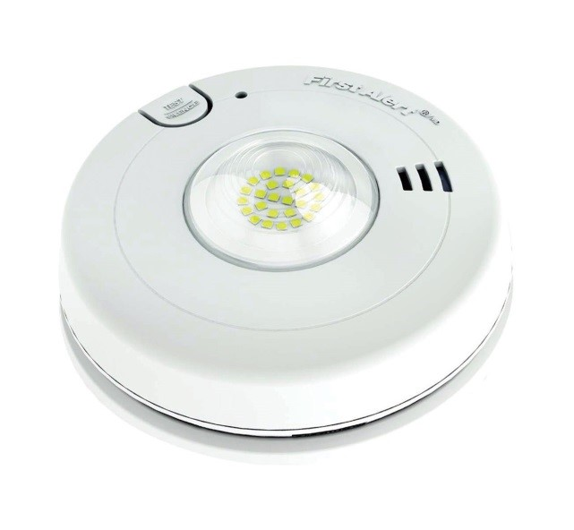 first-alert-smoke-alarm-with-strobe-light-for-the-hearing-impaired
