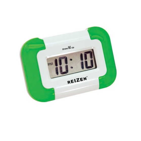 reizen-shake-u-up-vibrating-compact-travel-alarm-clock
