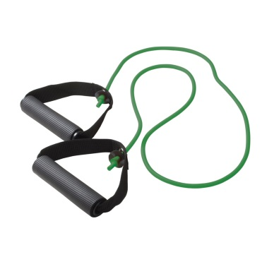 Cando Exercise Resistance Tubing w Handles Green Med Intensity