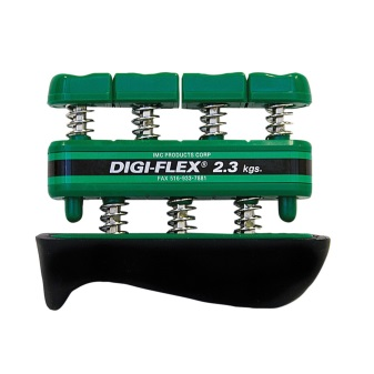 CanDo Digi Flex Hand and Finger Exerciser Green Medium Intensity