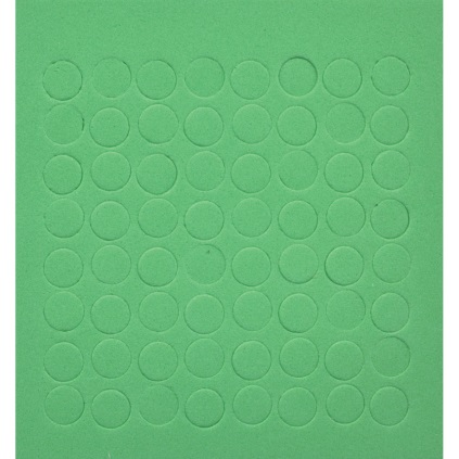 MaxiTouch dots lime green package of 64