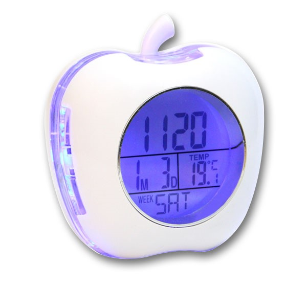 apple-shaped-talking-alarm-clock-with-temperature-and-calendar-white