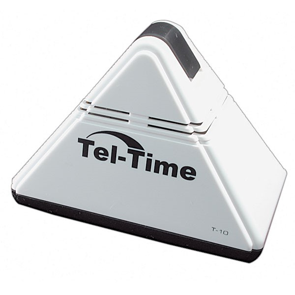 tel-time-pyramid-talking-alarm-clock