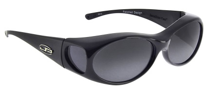Aurora Midnight Oil Fitover Sunglasses Polarvue Gray