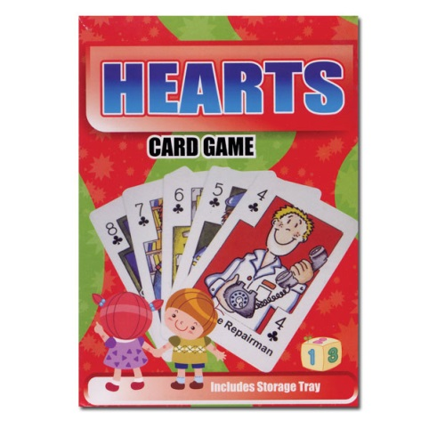 Hearts Card Game Neighborhood Helpers Flash Cards