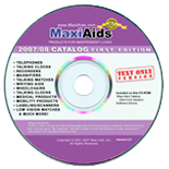 MaxiAids 2007 1st Edition Catalog  - Text Only Format