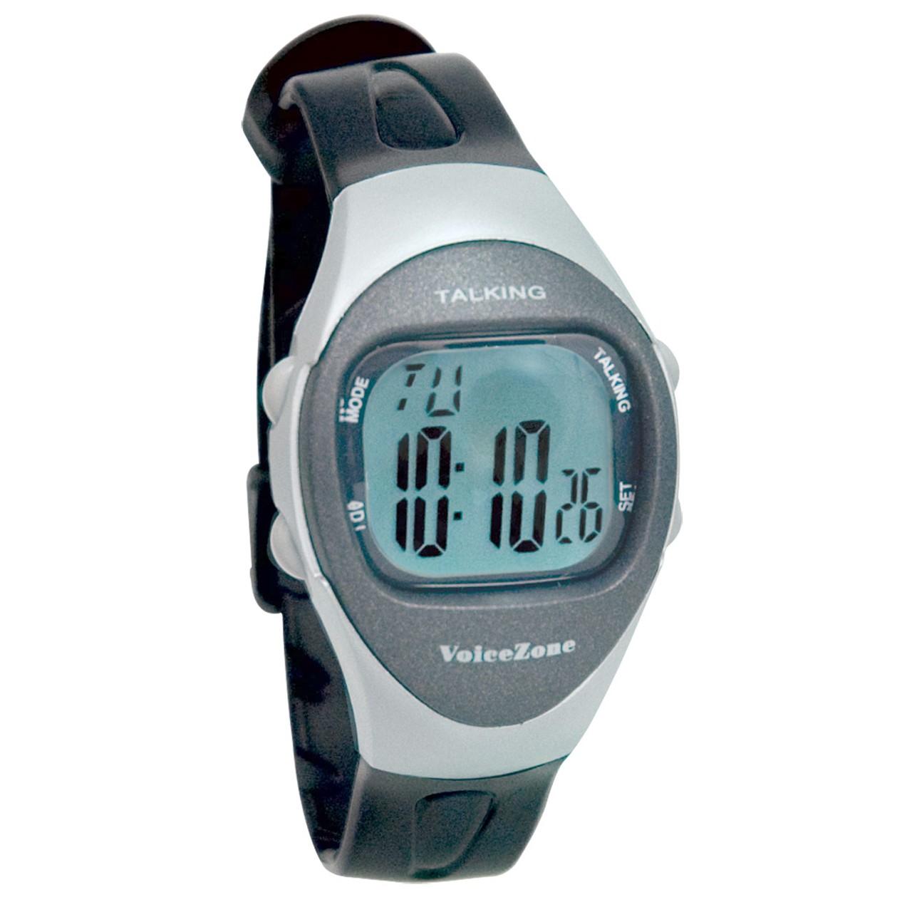 MaxiAids | Ladies 4-Alarm Talking 4-Alarm Medical Watch ...