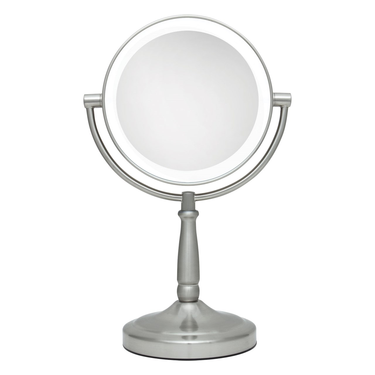 Lighted Vanity Mirror With Tv : MaxiAids Cordless LED Lighted Vanity Mirror 10x-1x