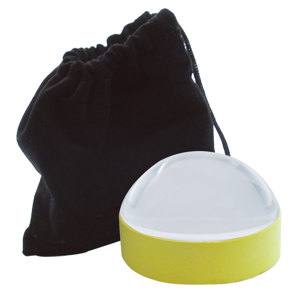 Reizen 65mm Dome Magnifier with Yellow Ring