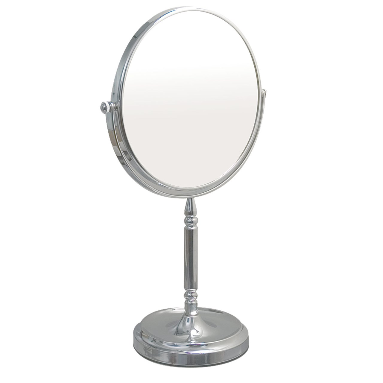 mirror on a stand vanity. MaxiAids Tall Vanity Stand Chrome Mirror With Recessed Base On  Home Design Mannahatta us