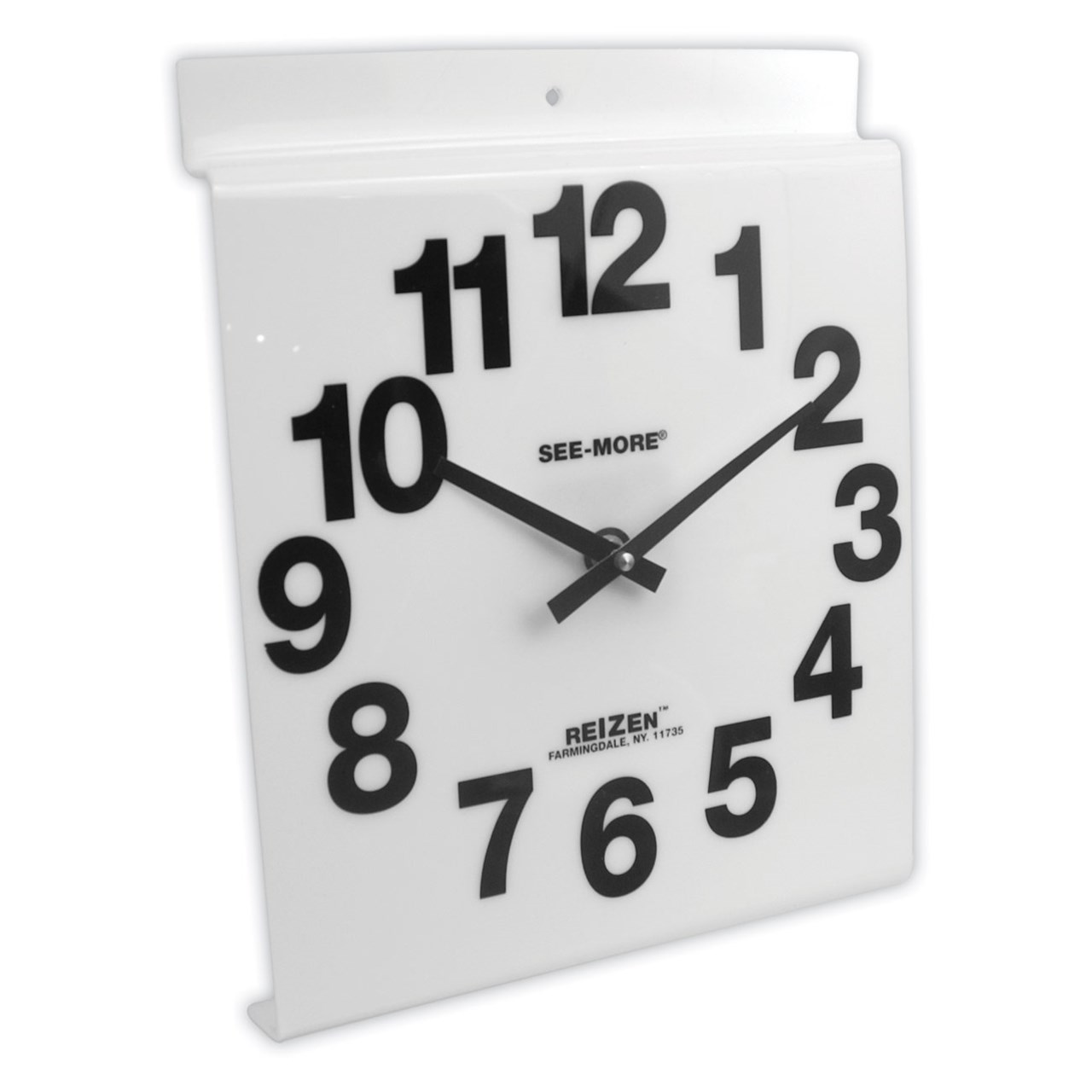 Giant View Low Vision Wall Clock- White Face
