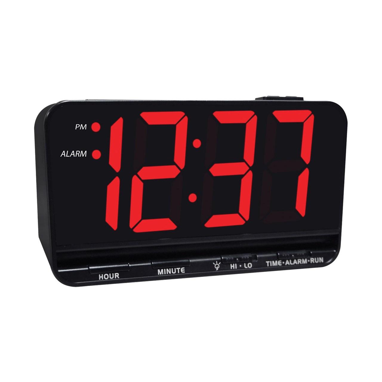 Maxiaids Jumbo Display Digital Alarm Clock With 3 Inch Led