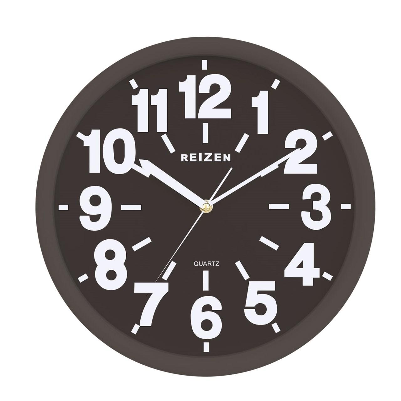 Maxiaids Reizen Low Vision Quartz Wall Clock Black Face