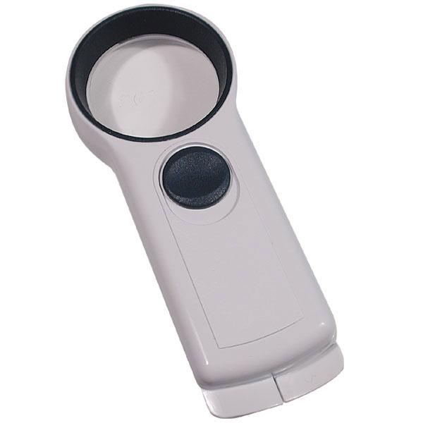 EZOptix 6x 50mm Handheld Illuminated Pocket Magnifier with LED Light