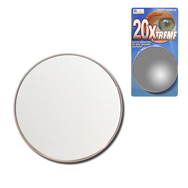 Maxiaids Zadro 20x Suction Cup Spot Mirror
