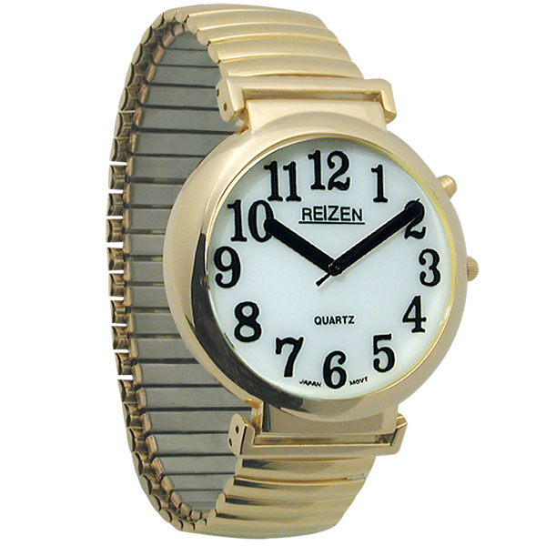 maxiaids reizen illuminated watch white face black numbers