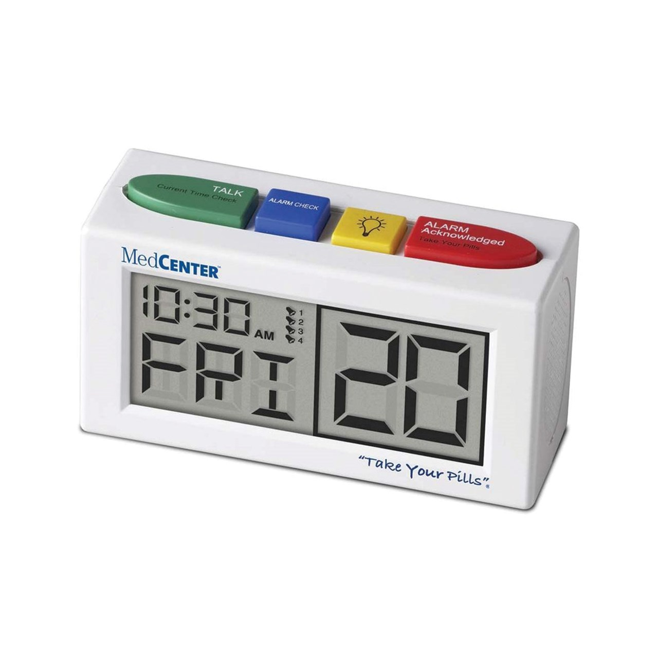 Maxiaids Talking Alarm Clock Medication Reminder