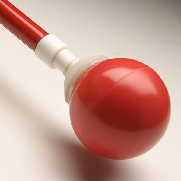 Maxiaids Ambutech Rolling Ball Tip Hook Style Red