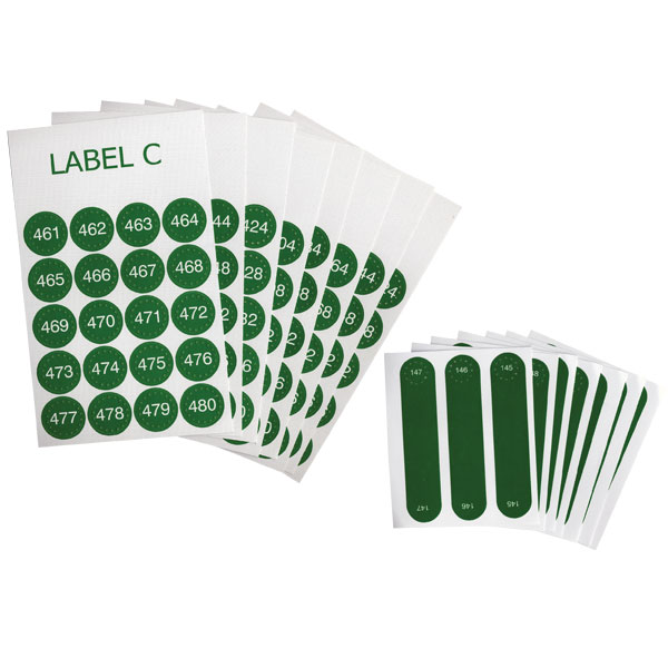 Labels for Reizen Talking Label Identifier- Set C