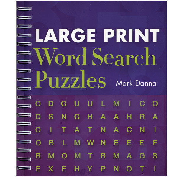 MaxiAids | Large Print Word Search Puzzles
