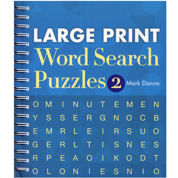 Maxiaids Large Print Word Search Puzzles Number 2