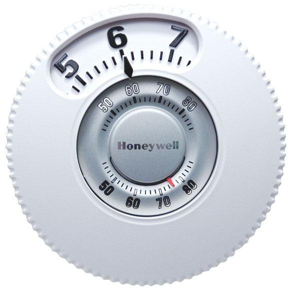 Honeywell T87 Round Thermostat Manual
