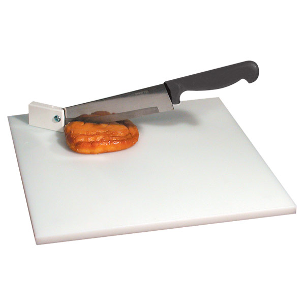 Maxiaids Cutting Board With Pivot Knife White Board
