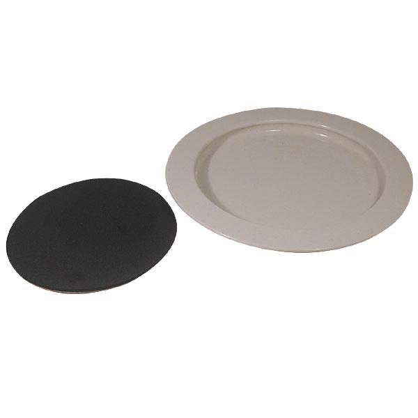 MaxiAids | Inner-Lip Plate w-Non-Skid Bottom